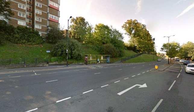 Picture: Google Maps/ Dock Road and Melville Court, Chatham, Kent. Hunt for rapist who grabbed woman and attacked as she walked out of subway