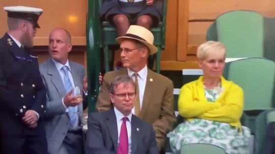 Woody Harrelson barred from his seat at Wimbledon