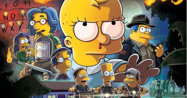 Halloween Simpsons Treehouse Of Horror.The Simpsons To Spoof Stranger Things 3 For Halloween Metro News