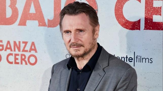 Liam Neeson at Cold Pursuit premiere