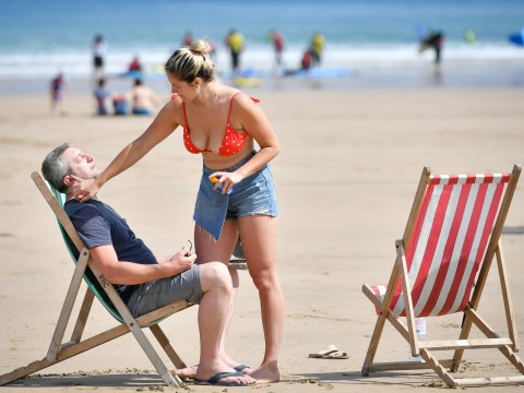 What is the hottest temperature ever recorded in the UK as the heatwave hits?