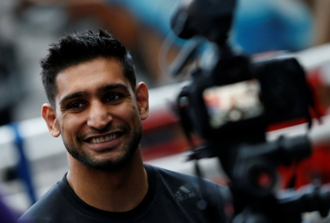 Amir Khan announced last week he had signed to fight Manny Pacquiao