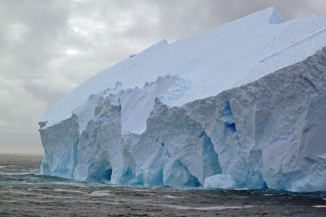 """***EMBARGOED UNTIL 19.00 BST, WED JULY 17TH (14.00 ET)*** A giant Antarctic ice sheet could be saved from sliding into the sea and melting - threatening millions of people - by generating billions of tons of artificial snow. See NATIONAL story NNsnow. Scientists say the collapse of the West Antarctic ice sheet collapse - which would threaten many cities including New York with catastrophic flooding - may be prevented by snowing trillions of tons of ocean water onto it. They claim that pumping ocean water onto coastal regions surrounding parts of the ice sheet and converting it to snow may prevent its meltdown. But the project would need """"unprecedented"""" feats of engineering - including the installation of several thousand wind turbines in the inhospitable region. Researchers are analysing the feasibility of stabilising the ice sheet by generating trillions of tons of additional snow by pumping ocean water onto the glaciers and distributing it with snow cannons."""