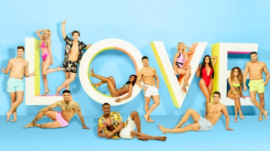 From ITV Studios Love Island: SR5 on ITV2 Pictured: [Back row] Curtis Pritchard, Amy Hart, Joe Garratt, Yewande Biala, Anton Danyluk, Lucie Donlan, Anna Vikali, Amber Gill and Tommy Fury. [Front row] Michael Griffiths, Sherif Lanre and Callum Macleod. This photograph is (C) ITV Plc and can only be reproduced for editorial purposes directly in connection with the programme or event mentioned above, or ITV plc. Once made available by ITV plc Picture Desk, this photograph can be reproduced once only up until the transmission [TX] date and no reproduction fee will be charged. Any subsequent usage may incur a fee. This photograph must not be manipulated [excluding basic cropping] in a manner which alters the visual appearance of the person photographed deemed detrimental or inappropriate by ITV plc Picture Desk. This photograph must not be syndicated to any other company, publication or website, or permanently archived, without the express written permission of ITV Picture Desk. Full Terms and conditions are available on the website www.itv.com/presscentre/itvpictures/terms For further information please contact: james.hilder@itv.com / 0207 157 3052