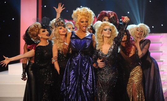 RuPaul and Drag Race superstars