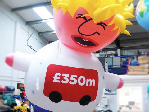 'Boris blimp' to fly over London in protest of his over-inflated ego
