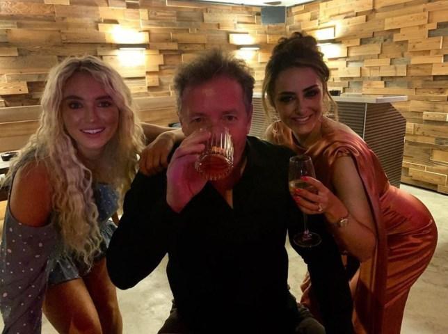 lucie Donlan, Piers Morgan and Hanna Miraftab