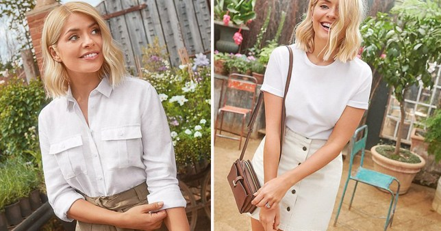 Holly Willoughby's M&S collection is here, with all the pieces you need for this weird weather