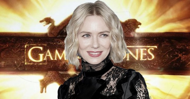Naomi Watts snapped in full costume for GoT prequel