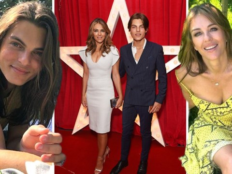 Inside Damian and Liz Hurley's family life as teenager lands major modelling campaign