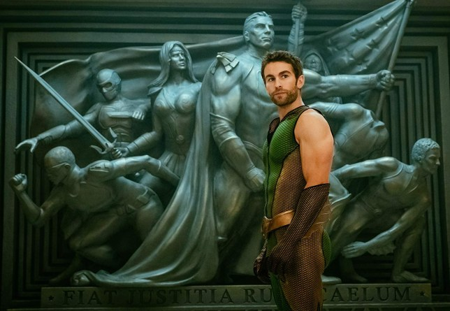 The Boys calendar gets everyone talking over Chace Crawford's skintight superhero costume