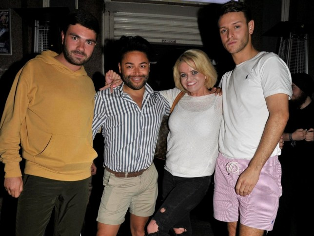 Danniella Westbrook, Mark Byron, Ben Perryman and Ryan Mira.
