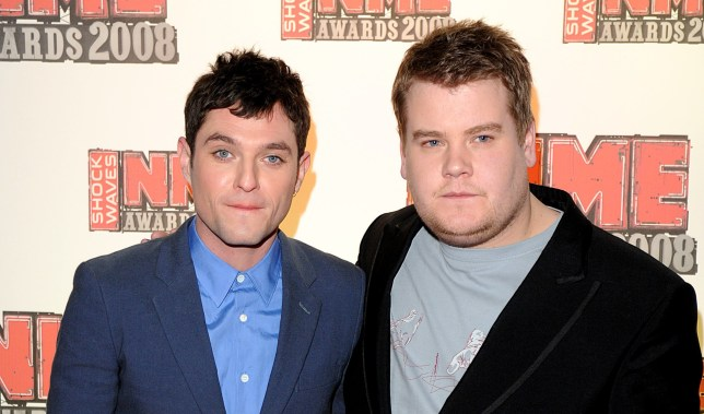 Mathew Horne (left) and James Corden arrive for the Shockwaves NME Awards 2008 at The O2 Arena, Millennium Way, Greenwich, SE10.