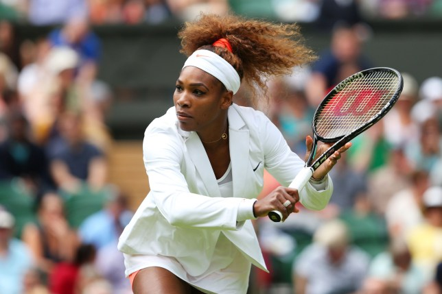 Serena Williams at Wimbledon Lawn Tennis Championships at the All England Lawn Tennis and Croquet Club on June 25, 2013