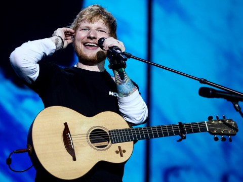 Ed Sheeran knocks U2 off top spot of highest grossing tour ever and we're buzzing for him