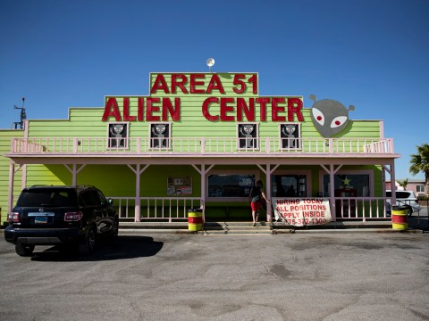 Nevada town (population: 54) prepares for possible 'Storm Area 51' influx