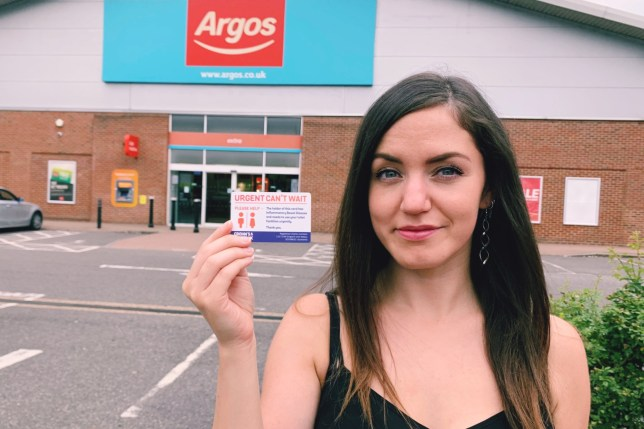 Argos now allows people with bowel conditions to use their staff toilets in over 800 stores