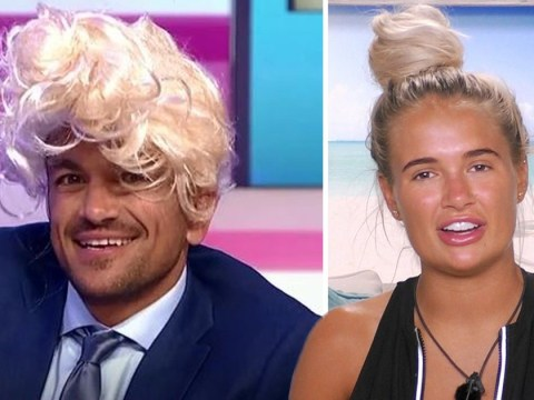 Peter Andre attempts Love Island's Molly-Mae's iconic hair bun and fails spectacularly