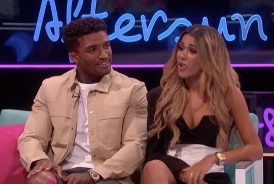 Love Island's Joanna Chimonides and Michael Griffiths on Aftersun