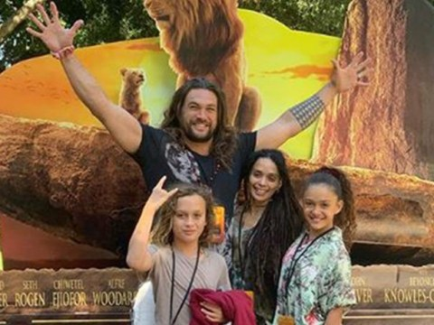 Jason Momoa is all of us as he cries 'numerous times' at The Lion King