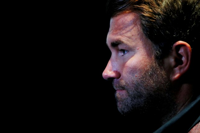 Eddie Hearn has urged people to wait to discover the facts