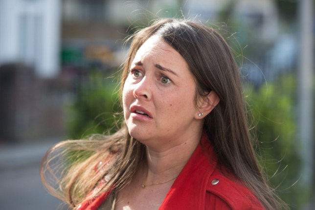 Lacey Turner as Stacey Fowler in EastEnders