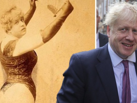 People refuse to accept Boris Johnson is not this 19th century prostitute