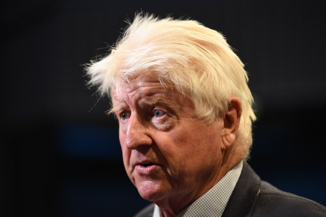 Stanley Johnson is interviewed at an event to announce the winner of the Conservative Party leadership contest in central London on July 23, 2019. (Photo by Ben STANSALL / AFP)BEN STANSALL/AFP/Getty Images