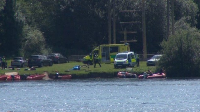 man in his 20s dies at Cotswold Water Park 'looking for dog'