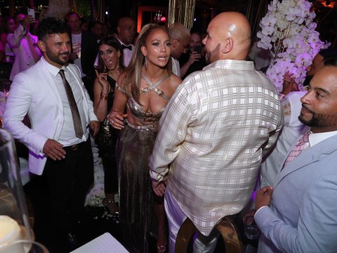 Ryan Thomas was invited to Jennifer Lopez's 50th birthday bash and even he can't believe it