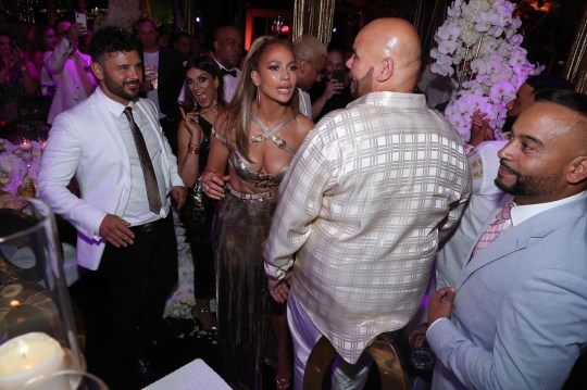 Jennifer Lopez celebrates her 50th birthday with a bang on Star Island in Miami