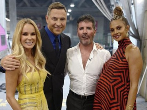 Alesha Dixon shows off baby bump in first behind-the-scenes photo from BGT: The Champions