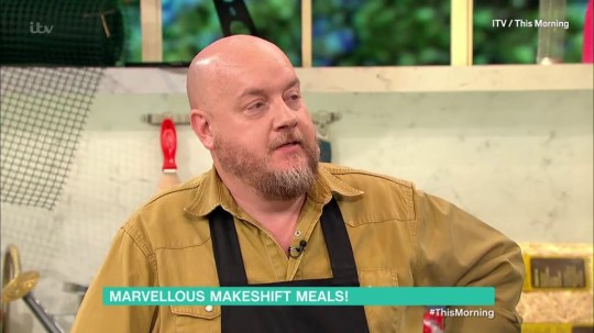 George Egg on This Morning