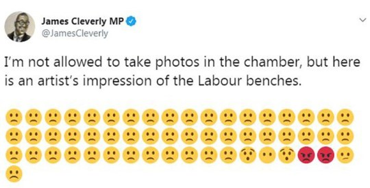 Emoji war breaks out in Parliament during Boris Johnson's first