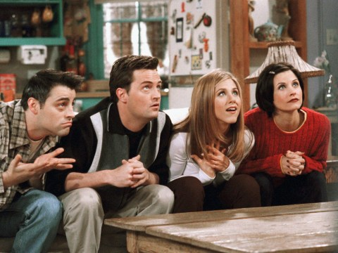 Friends hits cinemas for first time ever in celebration of 25th anniversary