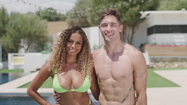 Love Island's Amber Gill and Greg O'Shea