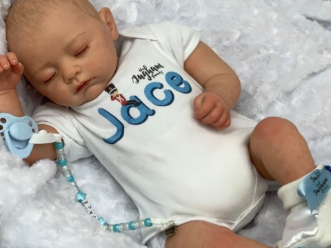 YouTubers The Ingham Family are selling a reborn doll version of their own child