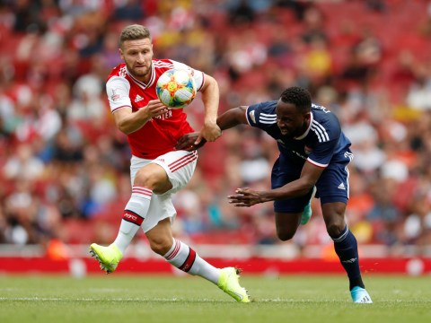 Arsenal fans boo Shkodran Mustafi substitution during Emirates Cup match against Lyon