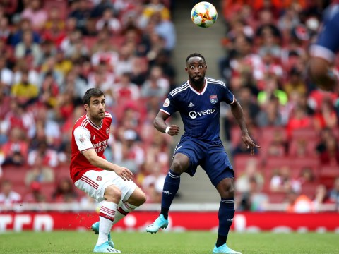 Manchester United transfer target Moussa Dembele breaks silence on his future after helping Lyon beat Arsenal