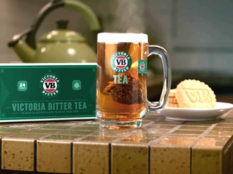 You can now get tea that tastes like beer so you can have a pint anytime
