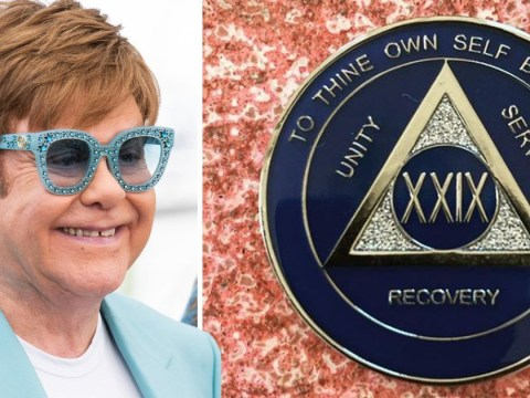 Elton John reflects on being 'a broken man' as he celebrates 29 years of sobriety