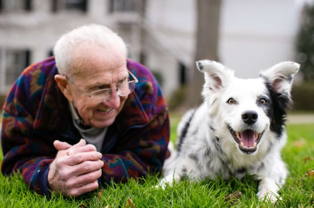 Dr. John Pilley is pictured with his Border collie Chaser whom he has taught more than 1,000 words. We are beyond sad to report that on Tuesday, July 23, 2019, in the Pilley family home, Chaser got her wings, joining John Pilley for their next adventure. We, the Pilley women, Sally Pilley, Robin Pilley and Deb Pilley Bianchi, were with her as she passed. It was peaceful, beautiful, quiet. She had been doing really well and then a couple of weeks ago, she started going downhill very quickly and died of natural causes at home. She is buried with the other Pilley dogs, sprinkled with John Pilley's ashes. Please forgive us if we are slow in responding, we love and appreciate all of you and will keep you posted on continuing Chaser's legendary legacy. Her story is far from over and we need all of you to keep the light burning bright. Hugs to Sebastien Micke & Paris Match for the beautiful photography Donations in her name can be made to Hub City Animal Project.
