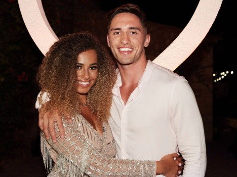 Love Island's Greg O'Shea confirms Amber Gill split but denies dumping her over text