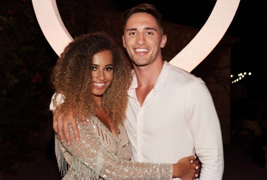 Greg O'Shea and Amber Gill, winners of Love Island 'Love Island' TV Show, Series 5, Episode 49, The Final, Majorca, Spain - 29 Jul 2019 Editorial use only Mandatory Credit: Photo by Matt Frost/ITV/REX (10349855eh)
