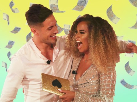 Love Island winners Amber Gill and Greg O'Shea reveal how they plan to spend their £50,000 prize money