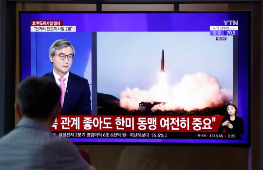 North Korea fires two more missiles in protest over US