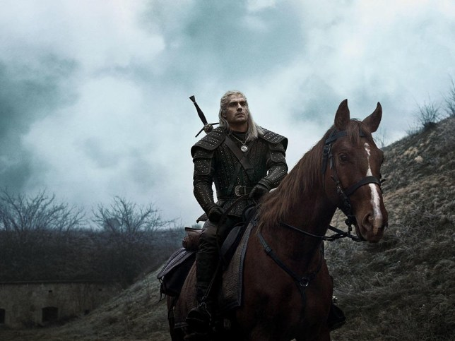 The Witcher Gearalt rides horse Roach
