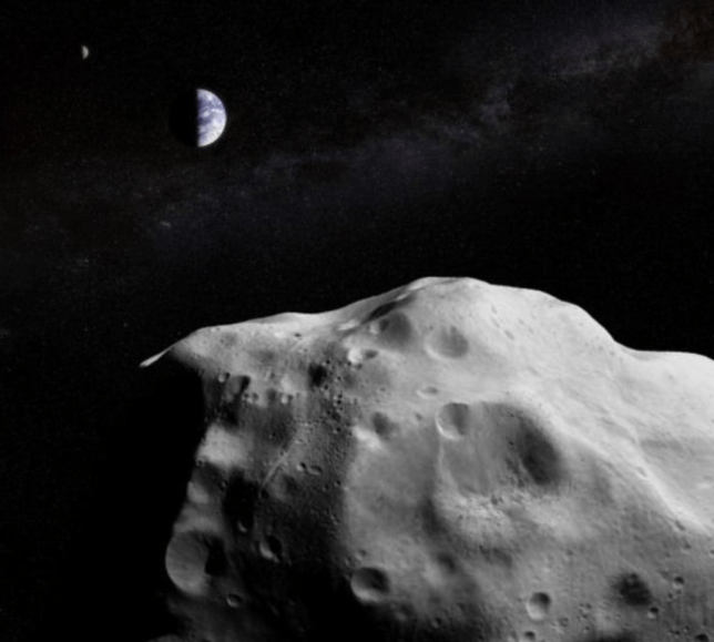 A monster asteroid twice the size of The Shard is heading for Earth