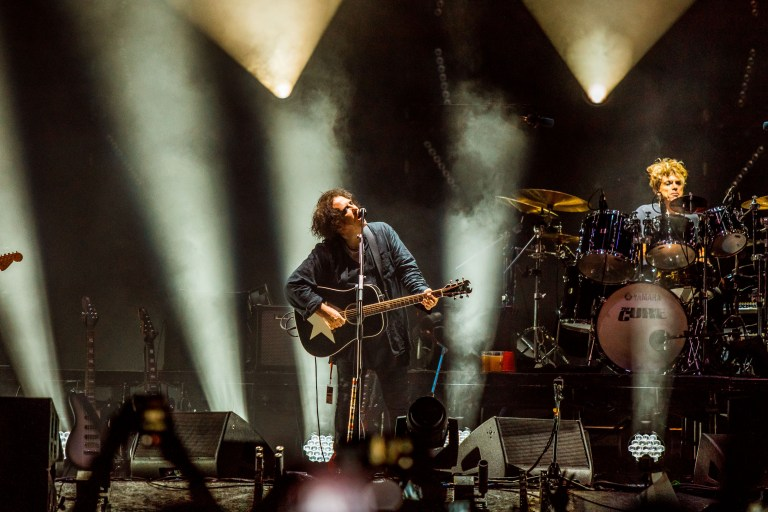 Robert Smith's The Cure light up Petrovaradin Fortress