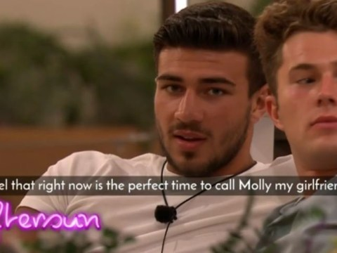 Love Island fans melt as Tommy Fury is about to ask Molly-Mae Hague to be his girlfriend